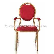 Откатные стулья отеля с толстыми ручками (YC-D101)