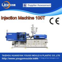 Machine de moulage par injection plastique de précision 100T pour composants en plastique design europ