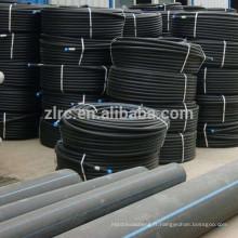 Le tuyau de bobine de HDPE / tuyau en plastique noir de HDD de tuyau d'eau roule 16 - 110mm