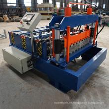 Máquina automática del panel de acero del doblez de la chapa