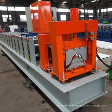 Fabriqué en Chine production métal maison en aluminium en acier crête chapeau rouleau formant la ligne