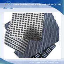 Fabrik Versorgung Galvanisiertes Stanzen Metall Mesh