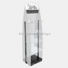 Fabrik Preis Stand Stand Alone Custom Salon Möbel Werbung Multi-Layer Friseur Display Equipment