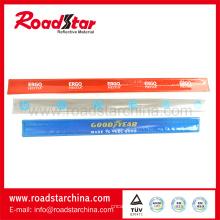 Qualité supérieure colorée imprimé bracelets réfléchissants
