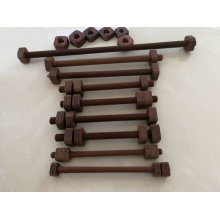 Laminated Wood Nuts and Threaded Rods