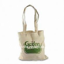 Saco de compras do desenhador do algodão & sacos de compras líquidos do algodão