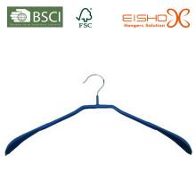 Eisho Специальный дизайн ПВХ покрытием металла вешалка для одежды