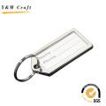 Custom Logo Metal PU Leather Key Chain Luggage Tag (X04019)