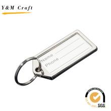 Étiquette de bagage de nom en métal promotionnel en alliage de zinc de haute qualité