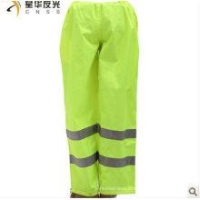 EN471 100% полиэфирные отражающие защитные штаны