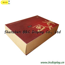 Cracker-Box, Lebensmittel-Paket-Box, braunes Papier, Kraftpapier, Rindsleder-Papier, Pergament-Box, Geschenk-Box (B & C-I023)