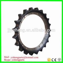 undercarriage parts PC200-5 chain drive excavator sprocket 20Y-27-11581