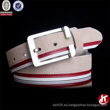 Cinturón de cuero caliente de la cintura del metal de la manera de moda superior del grano