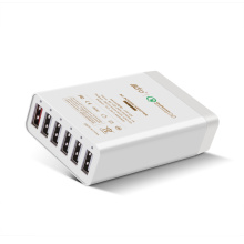 6 Ports 60W 12A Portable USB Charger with QC2.0 Technology