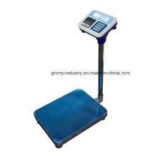 Échelle de pesée de la plate-forme numérique électronique avec imprimante