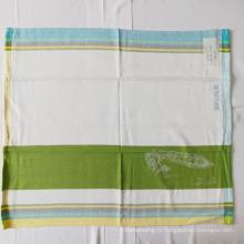 Serviette de thé Jacquard en coton teint en fil