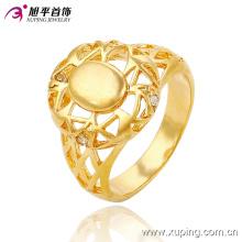 13655 мода CZ 24k позолоченные женщины имитация ювелирные изделия палец кольцо
