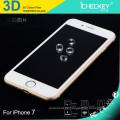 2016 Icheckey 3D Kohlefaser Full Cover aus Hartglas Displayschutzfolie für iPhone7