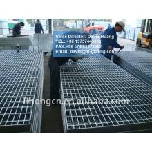 Plaque de grille en acier