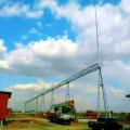 Estrutura da Subestação de Transmissão de Energia em Tubo de Aço em Forma de Porta 500kV