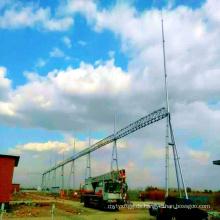 220 kV Tür-Shapped Stahlrohr Power Transmission Substation Architecture