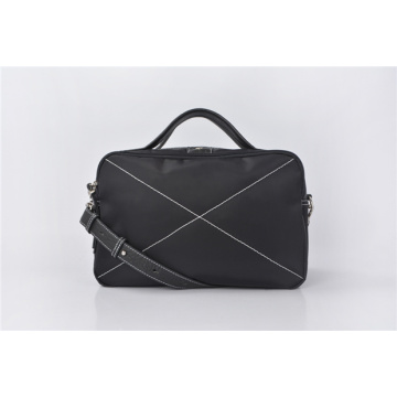 Borsa per laptop Messenger in nylon resistente all'acqua, unisex
