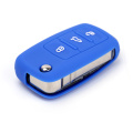 Venda quente silicone volkswagen polo key holder case