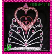 Novo design por atacado, jóias coração a coração China fornecedores coroa