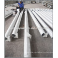 galvanized conical street hinged light poles