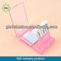 6 Pcs Eyeshadows Stick Makeup Sponge with Pink Box