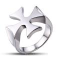 Schmucksache-Entdeckungen medizinischer Metallschmucksache-Kreuz-Ring