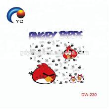 YinCai In Stock International Standard Water Transfer Adorable Cartoon Children Tattoo sticker
