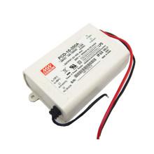 MEAN BEM 350mA dimmable LED Driver 16 W IP30 UL PCD-16-350A com Função PFC