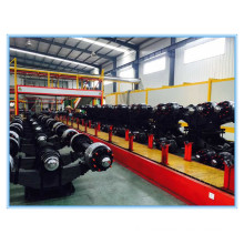 Semi trailer parts and Trailer parts includes trailer axle