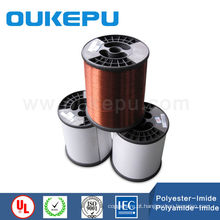 Certificado UL 100% redondo esmalte alumínio fio de enrolamento de fio elétrico de calibre 12, 10 calibre de fio de enrolamento