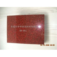 High Gloss Flash Silver UV Panel for Furniture Decoration