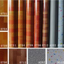 Tapete colorido 0.35mm-2.0mm da coberta do revestimento do PVC