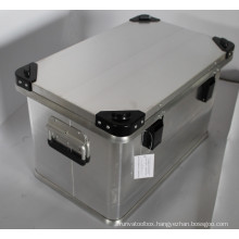 ALUMINUM BOX WITH DIE LID