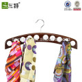 10 scarves Organizer Wood Scarf Hangers Wholesale