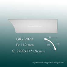 Eco-friendly Decorative PU Large Crown Molding