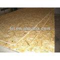 Pine osb -3 para pavimento / 12mm impermeável osb para construção