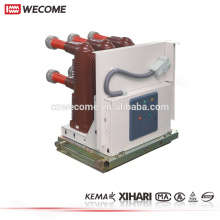 Wecome Wangkong 12kV Withdraw And Fixed Type HV 3 Poles Vacuum Circuit Breaker VCB