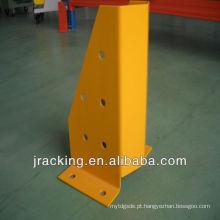 Protetor vertical da cremalheira da pálete do pó de Jracking