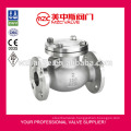 150LB CF8M Flanged Swing Check Valve