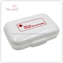 6 Grids Pill Box, Kunststoff Pill Box