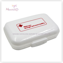 6 Grids Pill Box, Plastic Pill Box