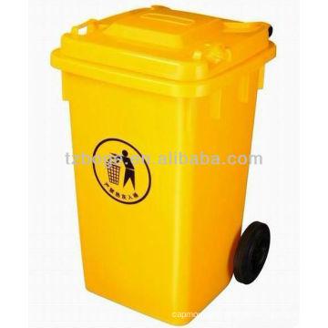 пластиковые мусорные контейнеры с колеса плесень