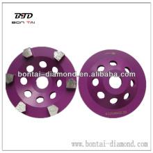 Diamantschalenrad für Betonschleifen