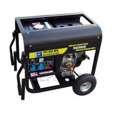 6.0kw Air Cooled Portable Diesel Generator with Handle and Wheels