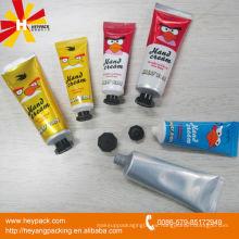Aluminio crema de manos cosméticos embalaje